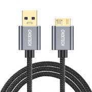 Choetech Micro USB-B Cable(2m/6.6ft),USB 3.0 A Male to Micro B Braided Cable High-Speed Date