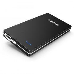 Choetech 10000mAh Ultra-thin Portable Charger Power Bank Black