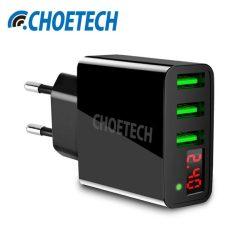 Choetech C0027 3 USB portos QC fali hálozati töltő