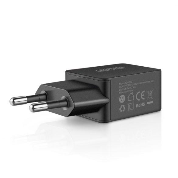 Choetech C0203 5V 2.4A USB Travel Wall Charger (UL Certified) - EU