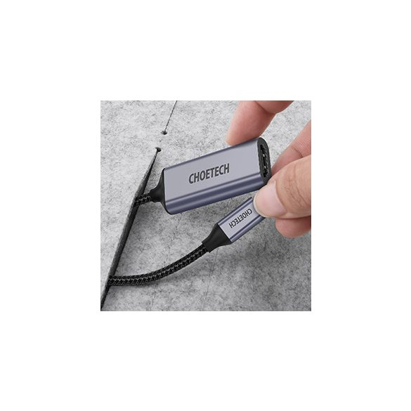 Choetech HUB-H10 USB C to HDMI Braided Cable Adapter Hub