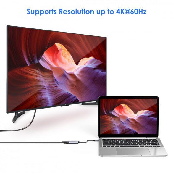 Choetech HUB-H11 USB C to DisplayPort Adapter (4K@60HZ) Type C (Thunderbolt 3) to DP Adapter