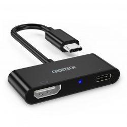 Choetech HUB-M03 USB C to HDMI and PD Charging Port Hub