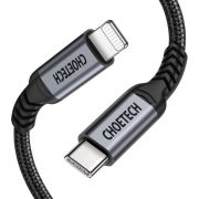 Choetech USB C to Lightning Nylon Braided Cable [Apple MFi Certified]