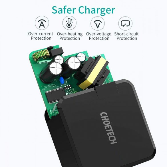 Choetech PD 30W Type-C Wall Charger, Fast Charger - EU