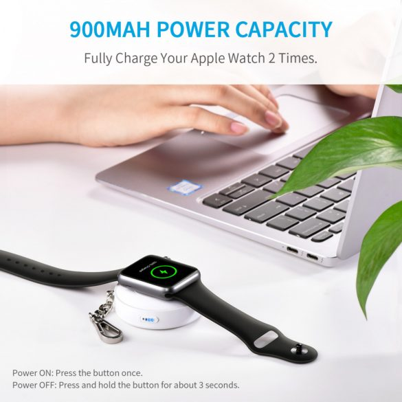 Choetech T313 900mAh Wireless Apple Watch Power Bank