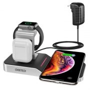 Choetech T316 4 in 1 iPhone + Apple Watch Wireless Charging Dock (MFi Certified)