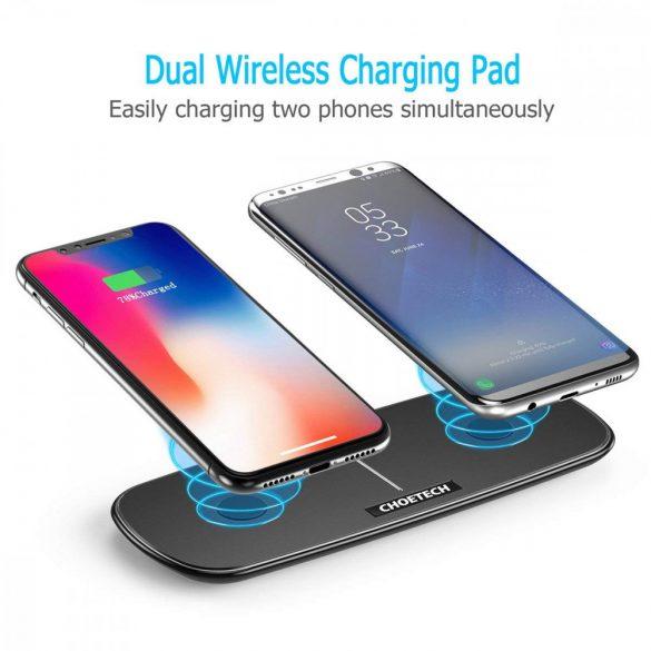 Choetech T525 Dual Phone Wireless Charging Pad