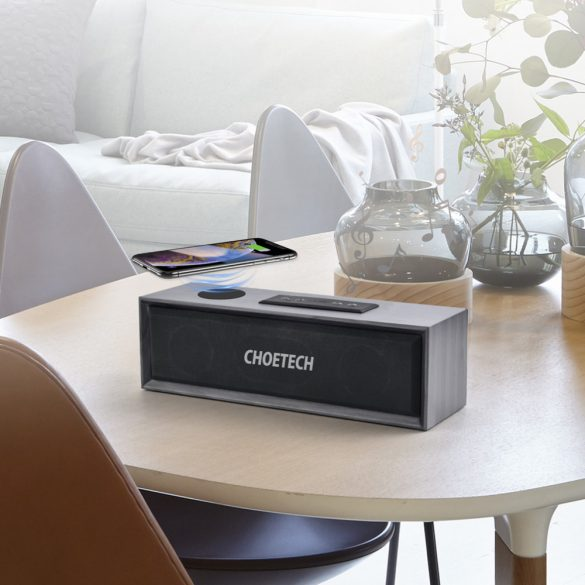 Choetech T561-S Bluetooth Speaker with Wireless Charging