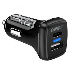 Choetech TC0005 36W Quick Charge 3.0 USB Type C Car Charger