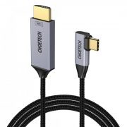 Choetech XCH-1803 USB C to HDMI Braided Cable 4K@60Hz